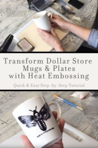 How to heat emboss step-by-step