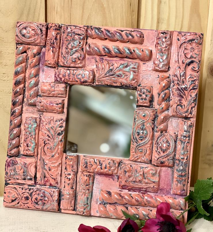 DIY boho mirror that you can make at home