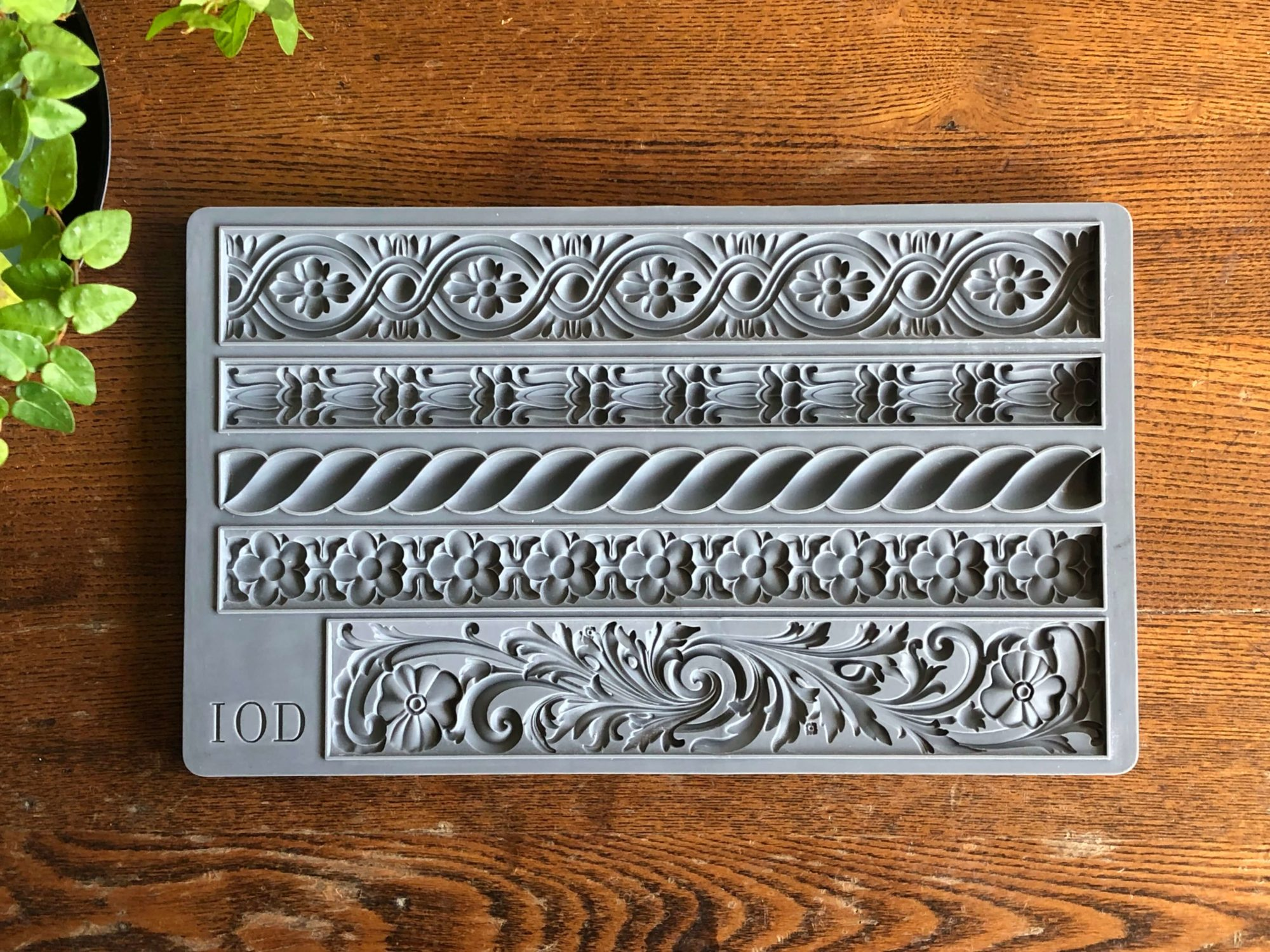 Trimmings 2 mould by Iron Orchid Designs