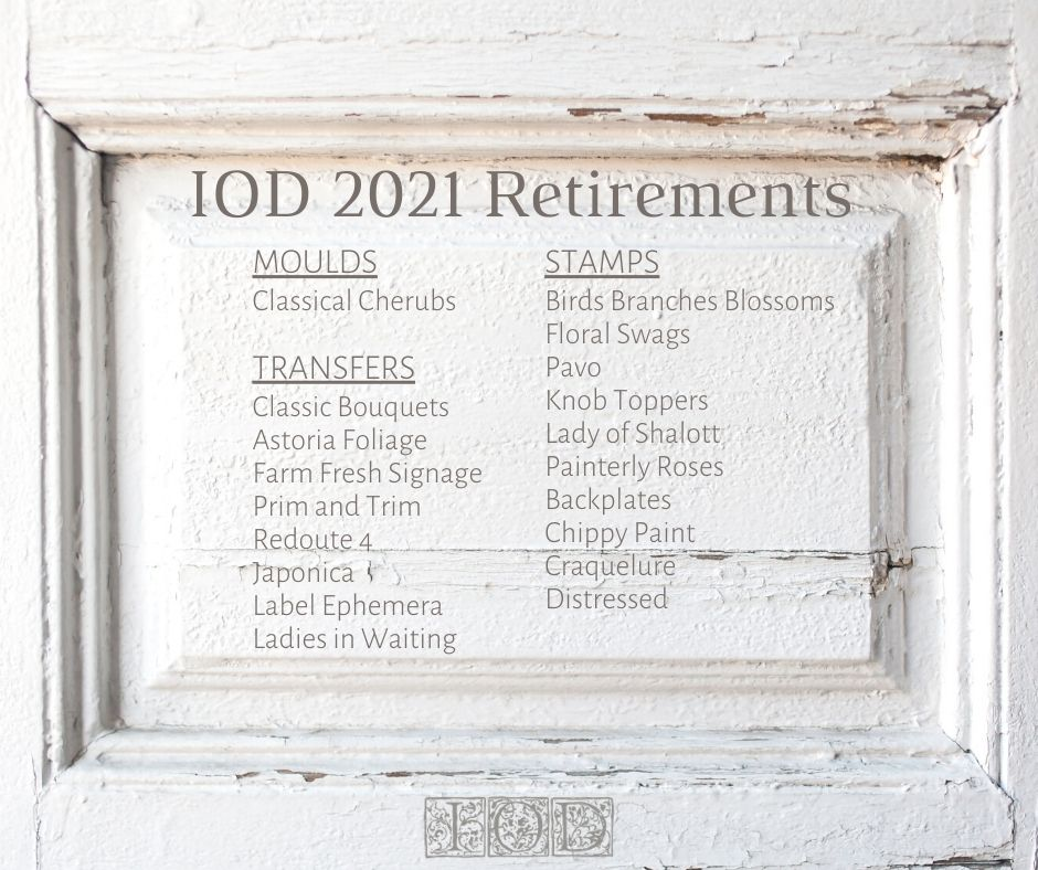 discontinued IOD transfer 2021