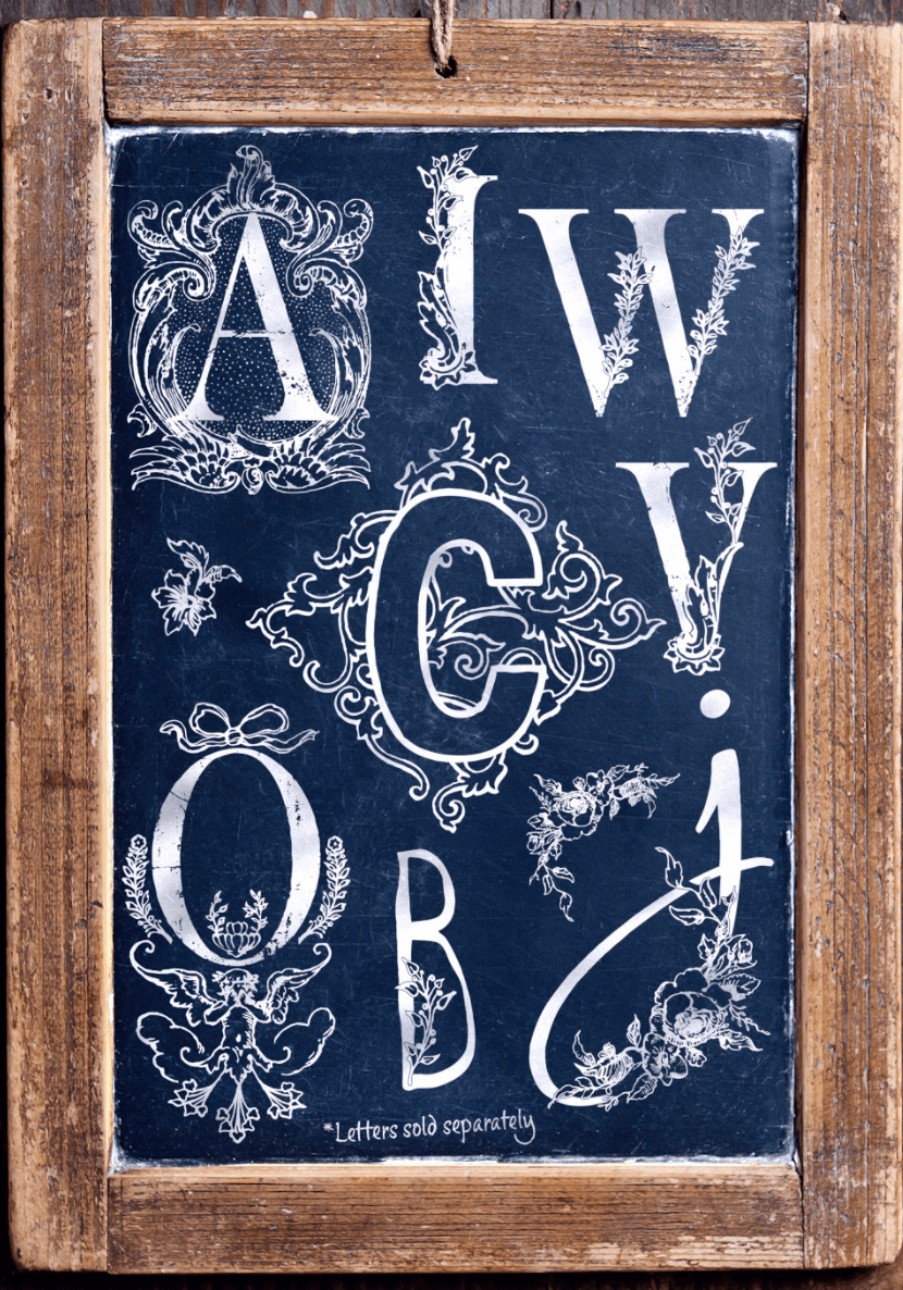IOD Alphabellies Stamp for letters